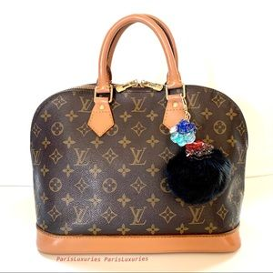LOUIS VUITTON Classic Alma PM Handbag LV Monogram
